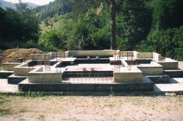 Кратак технички опис конструкције Храма Свете Петке у Мочиоцима