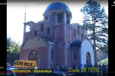 Екипа ТВ Прибој у селу Мочиоци – слава Света Петка 2018. године